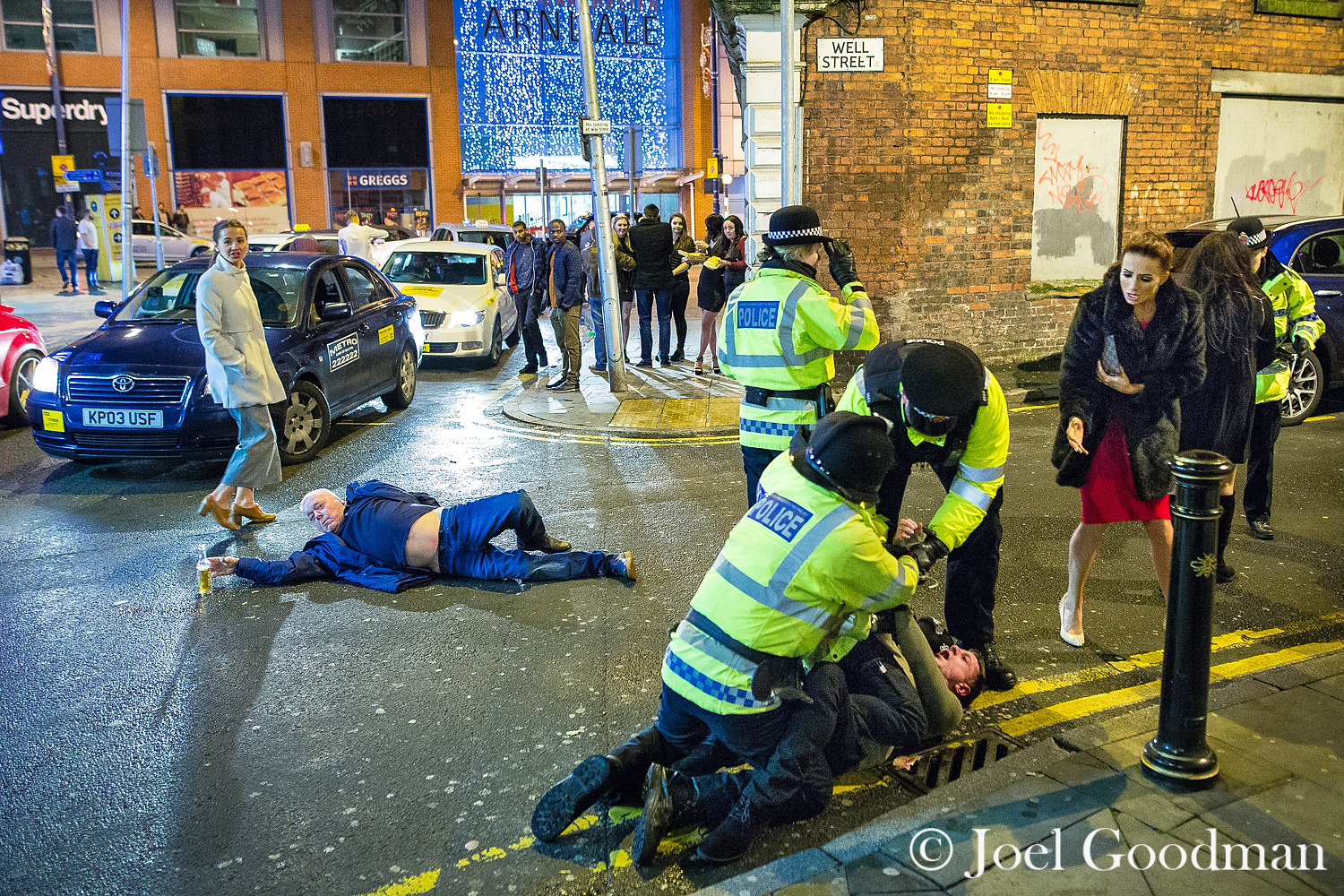 Image result for joel goodman manchester new years eve